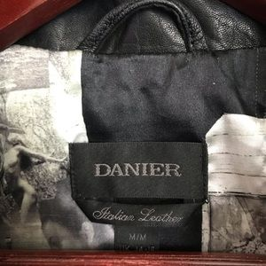 Danier Jackets & Coats - Danier Vanessa Italian black leather jacket